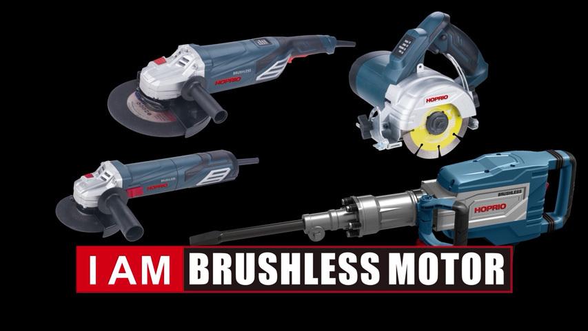 HOPRIO overall machine comparison Brushless controller