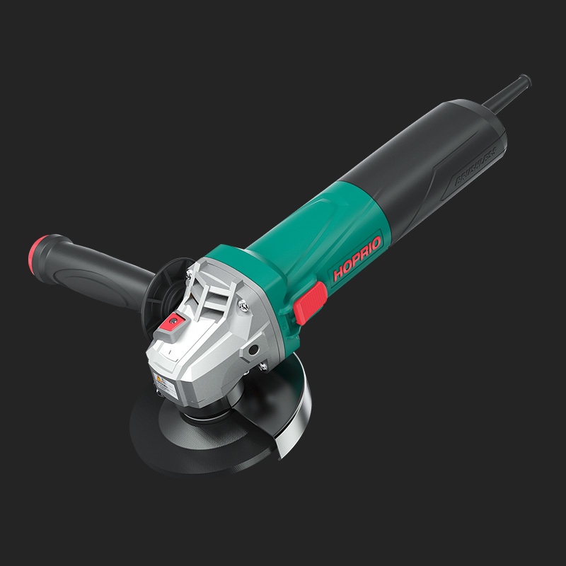 S1M-115YE1 Industrial Grade Big Power Brushless Angle Grinder