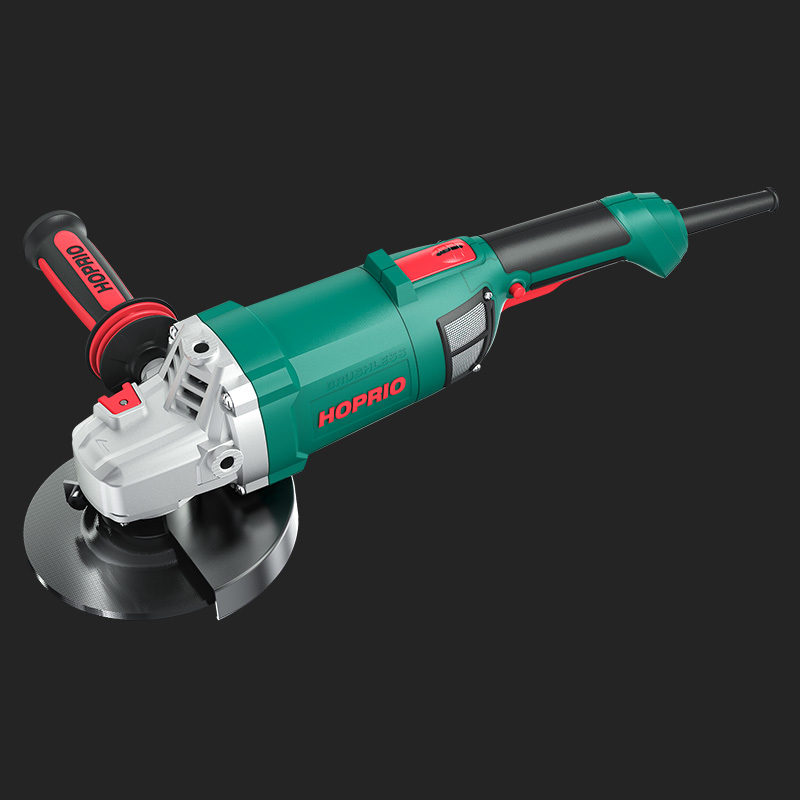 Hoprio New Industrial Grade Big Power Brushless Angle Grinder