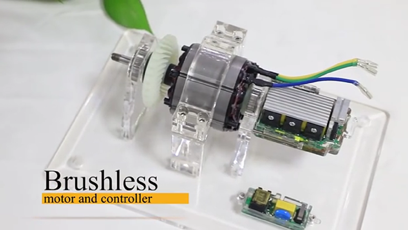 Hoprio Brushless Motor and Controller丨High Efficiency and High Power IGBT Driver