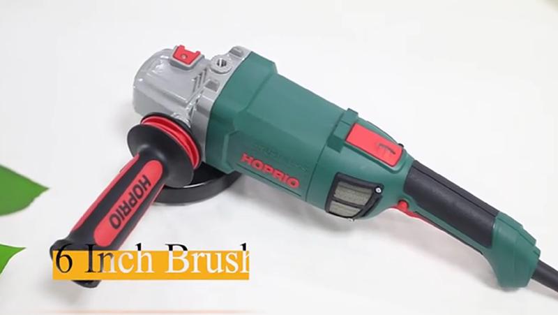S1M-150YE3 Hoprio 6 inch brushless angle grinder