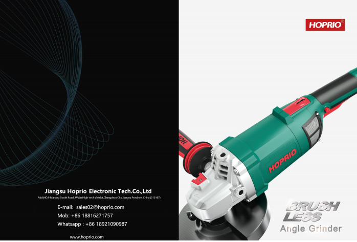HOPRIO BRUSHLESS TOOLS CATALOG
